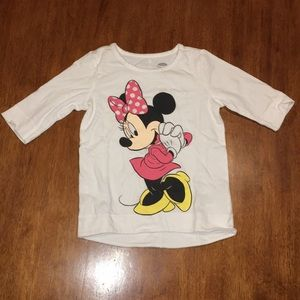Old Navy Disney Minnie Mouse Shirt Size 3T